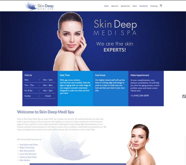 Project: Skin Deep Medi Spa