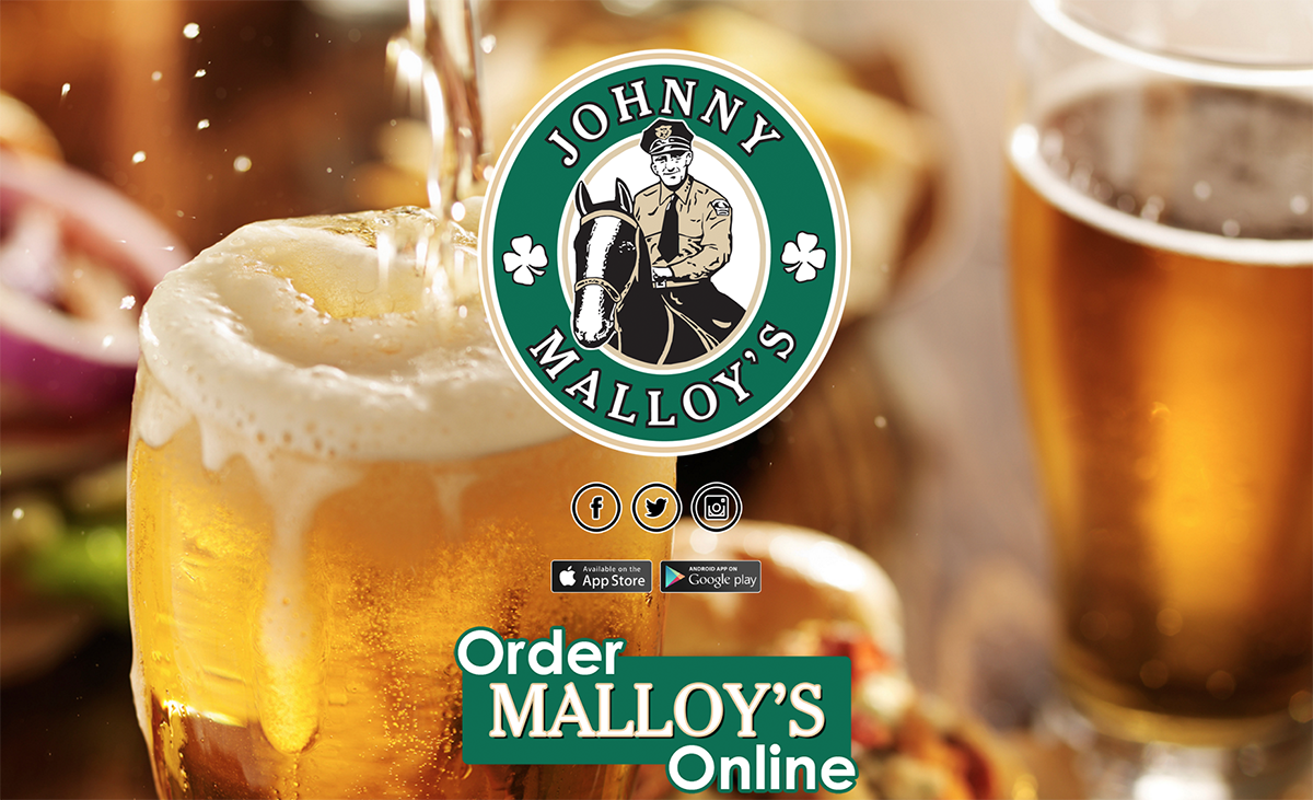 OCRON aids Johnny Malloy's on web and social media.